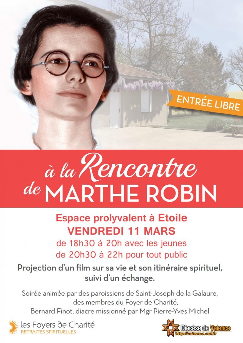 Affiche Marthe Robin