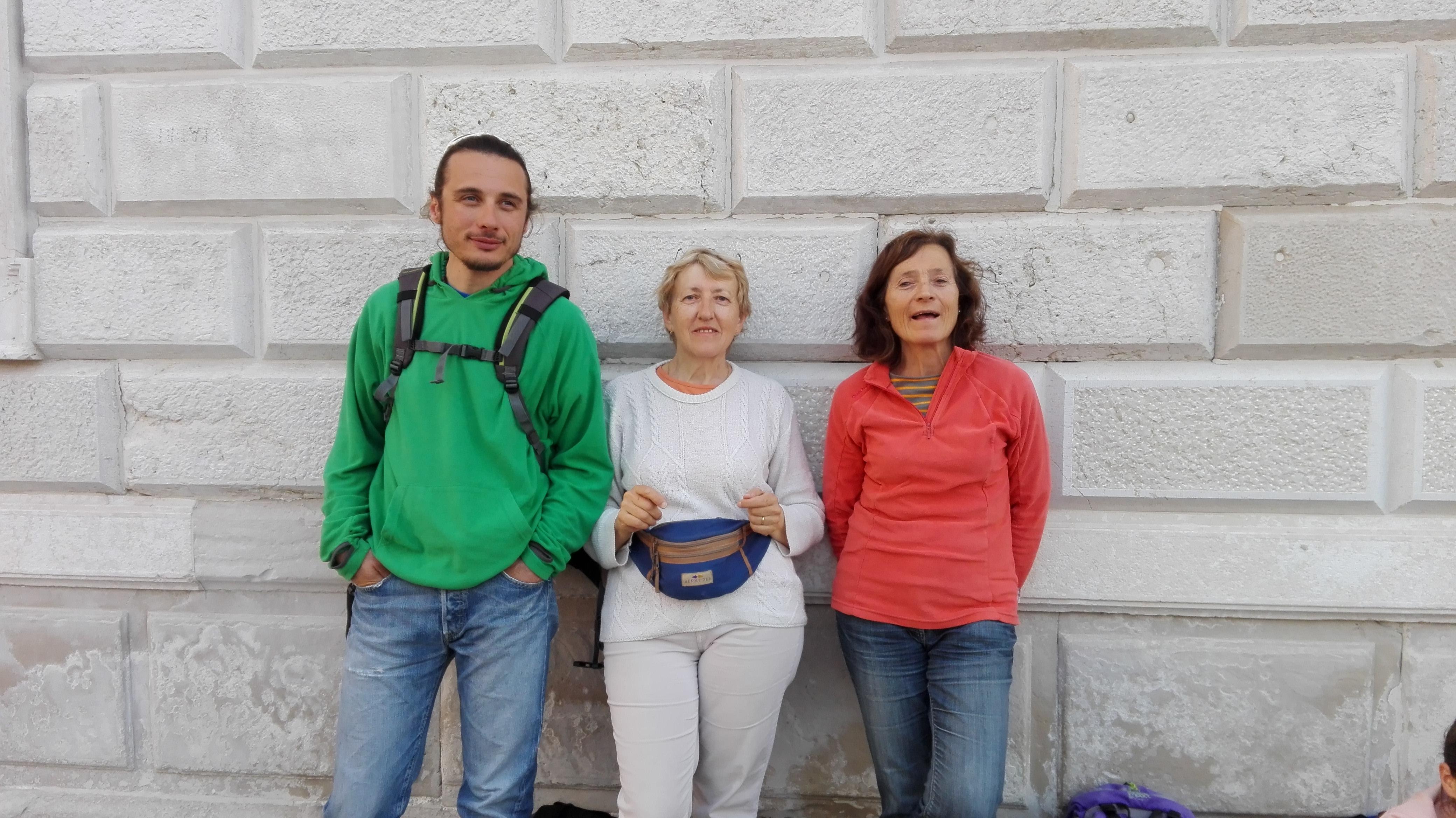 Les profs aux couleurs du drapeau italien